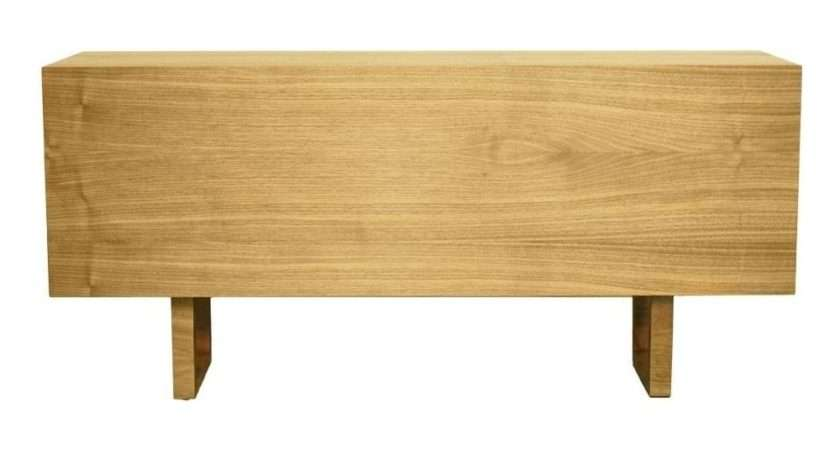 Buy Fusion Living Scandi Style Oak Yellow Sideboard