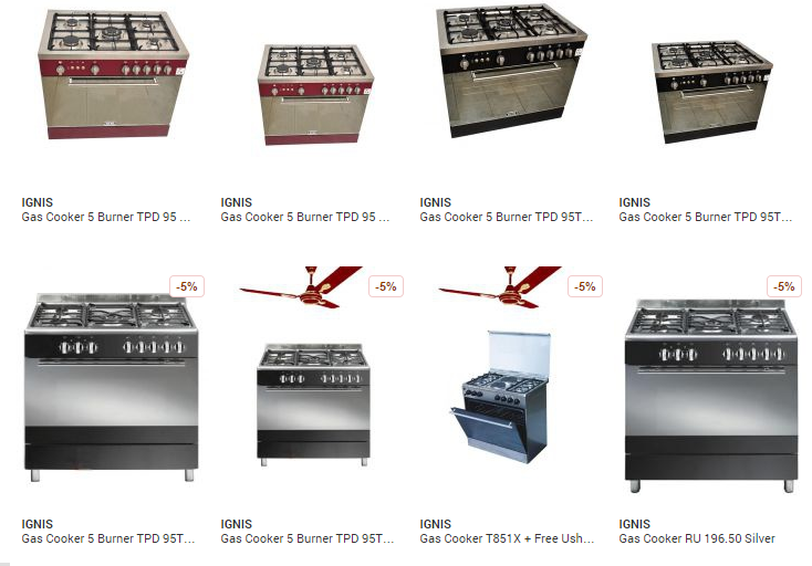 Buy Gas Cooker Nigeria Price