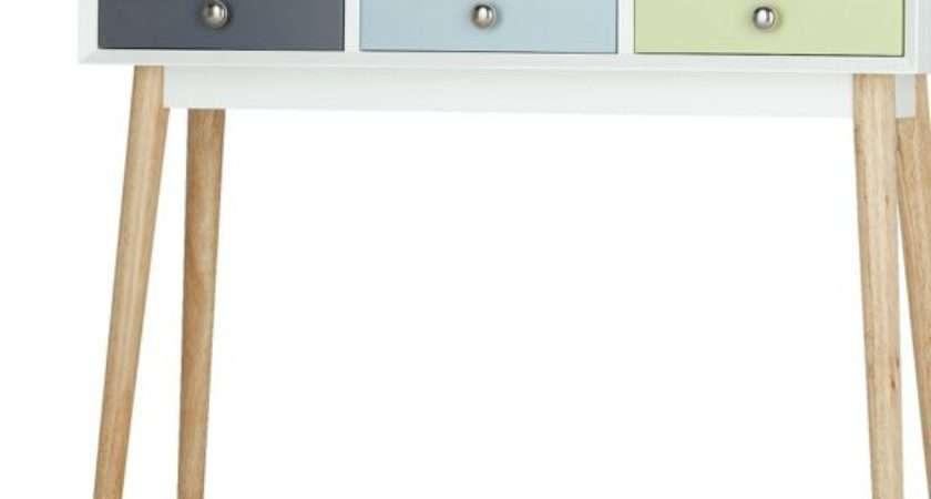 Buy Hygena Lumina Console Table Multicoloured Argos