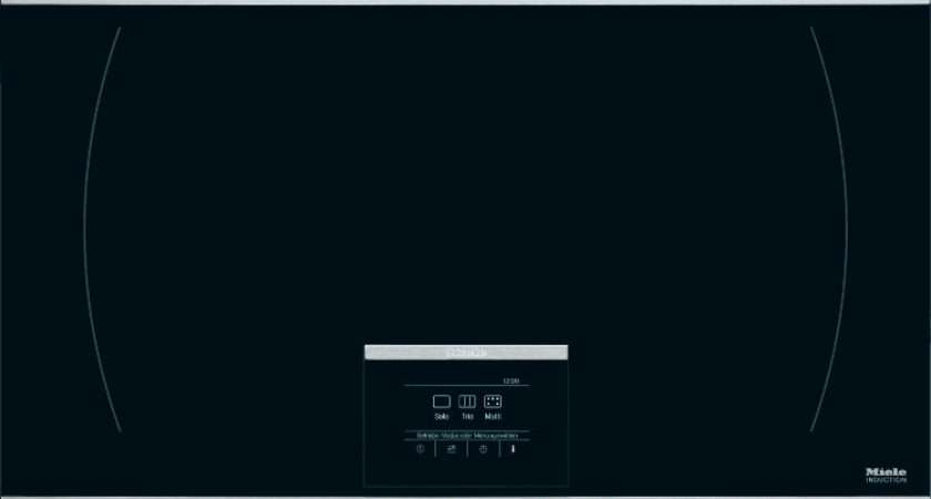Buy Miele Induction Hob Stainless Steel Trim Front Back