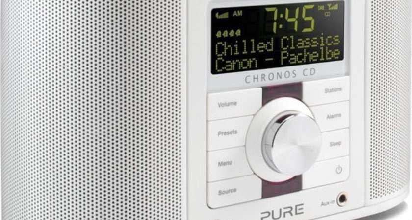 Buy Pure Chronos Series Dab Clock Radio White
