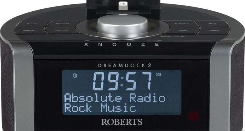 Buy Roberts Dreamdock Dab Clock Radio Apple