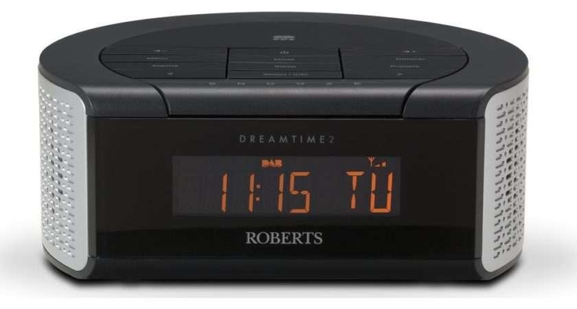 Buy Roberts Dreamtime Dab Clock Radio Black Silver