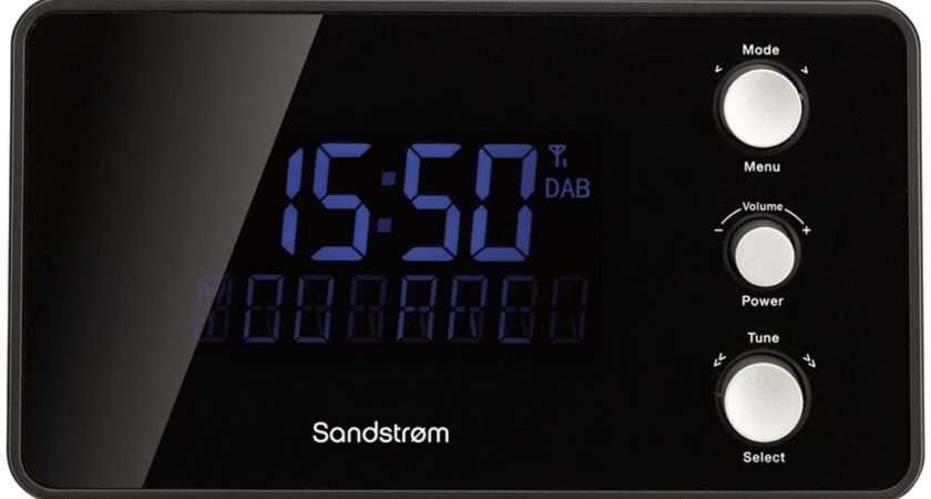 Buy Sandstrom Sdabxcr Dab Clock Radio Black