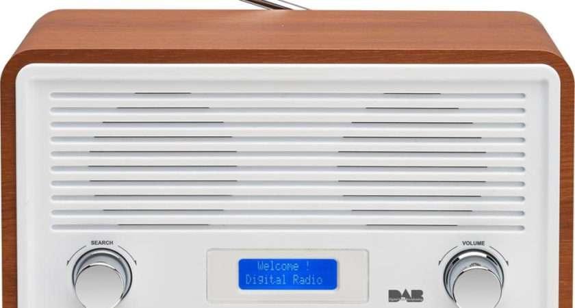 Buy Sandstrom Sdr Dab Clock Radio Walnut White