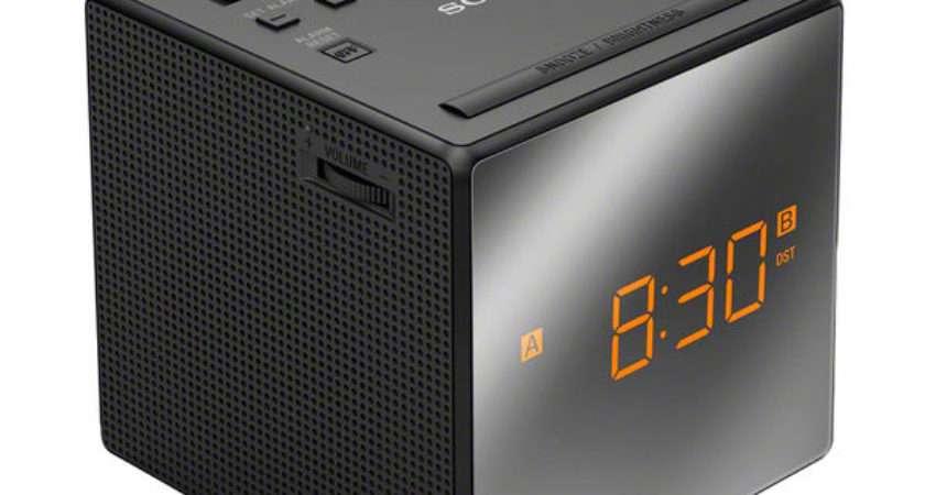 Buy Sony Icfc Analogue Clock Radio Black