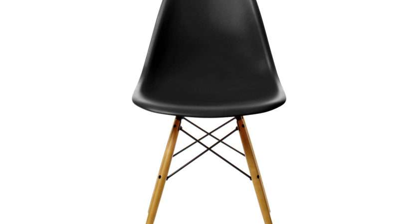 Buy Vitra Dsw Eames Plastic Side Chair Golden Maple