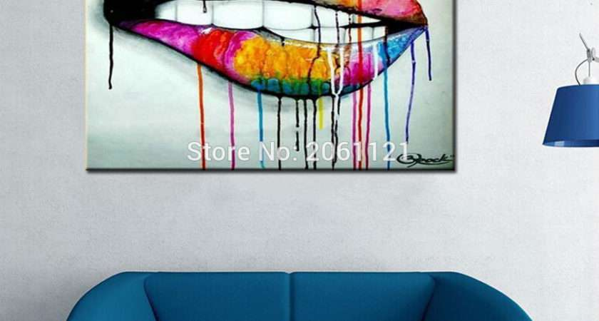 Buy Wholesale Abstract Canvas Painting Ideas