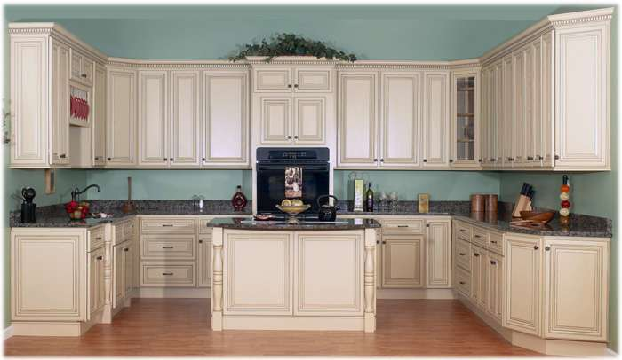 Cabinets Kitchen Antique White