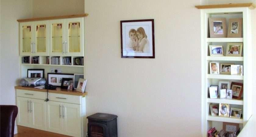 Cabinets Living Room Shelves Design Ideas