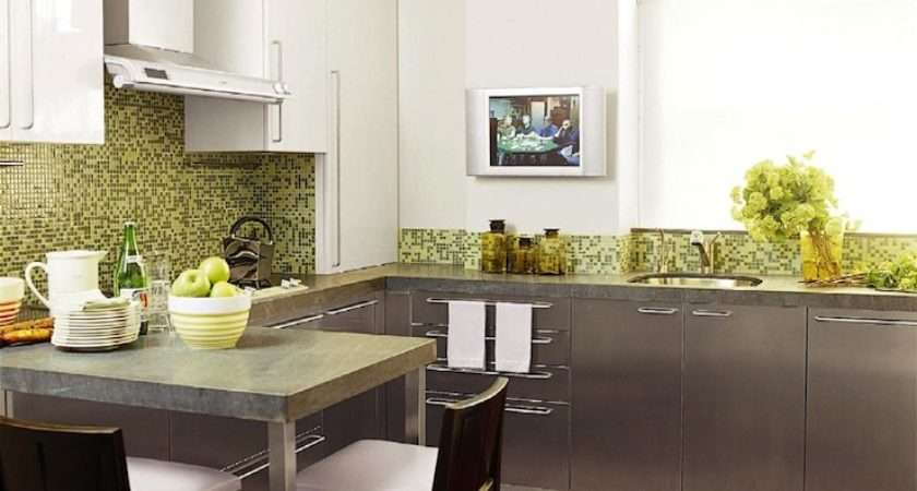 Cabinets Over Kitchen Peninsula Contemporary
