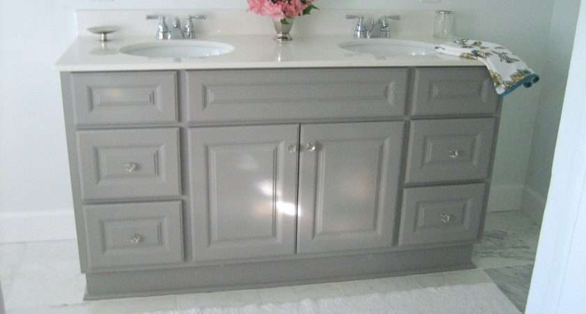 Cabinets Vanities Standing Custom Bathroom Vanity Light Wood