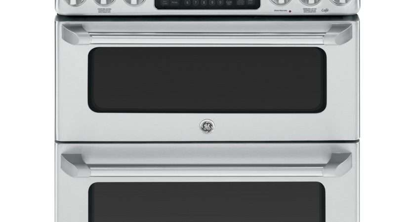 Cafe Stainless Double Oven Gas Range Cgs Setss