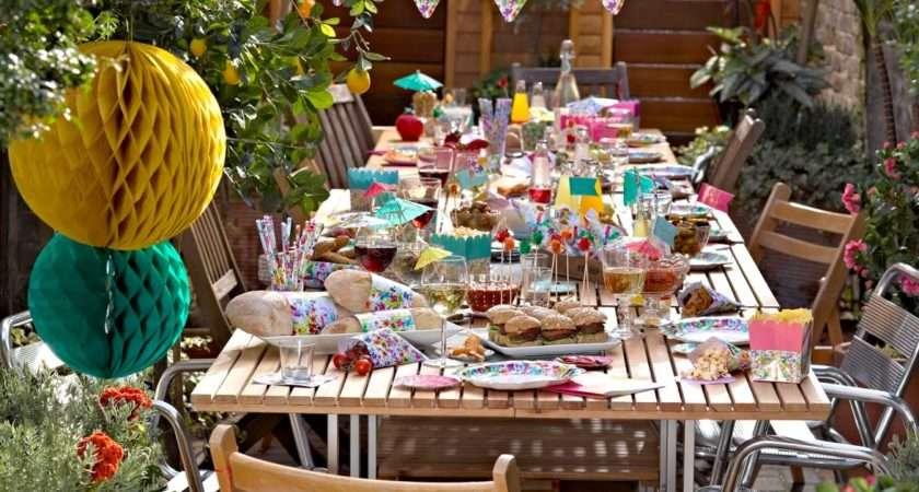 Cake Junki Garden Party Decorations