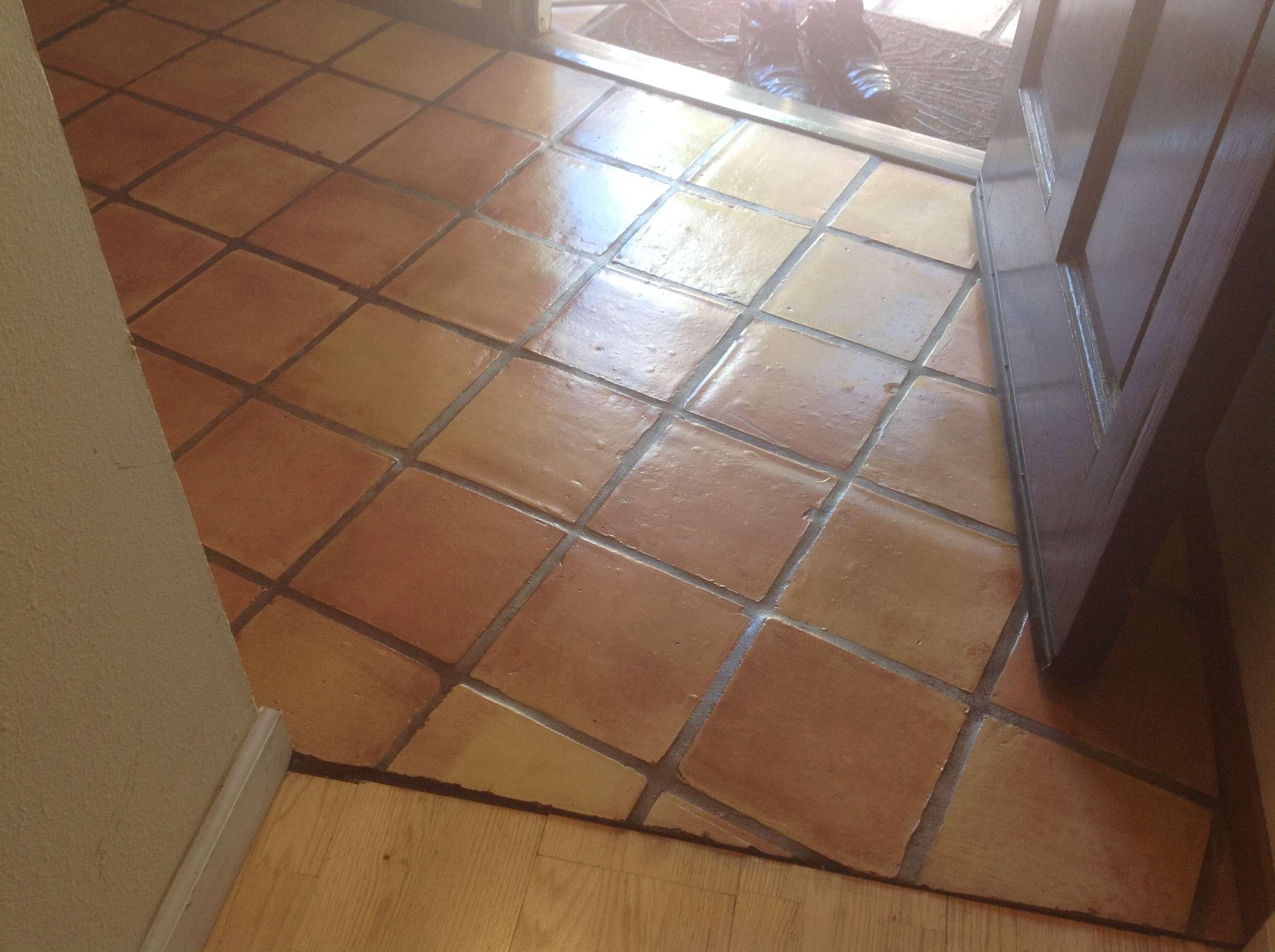 California Tile Restoration Today Refinishing Saltillo