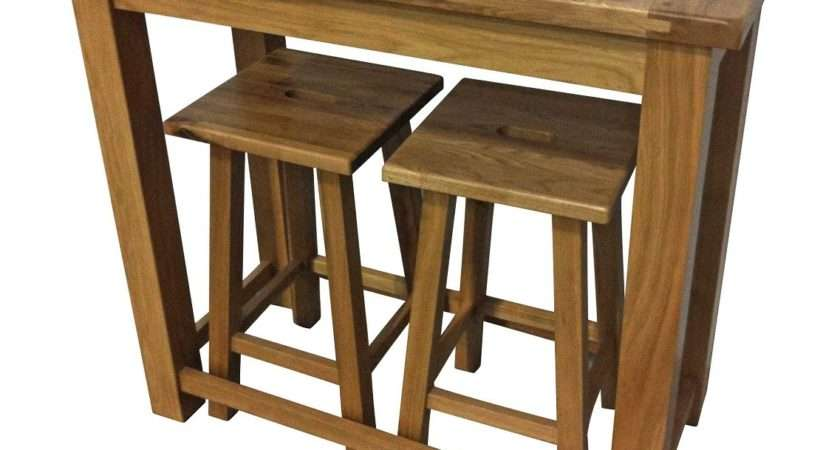 Cambridge Oak Breakfast Bar Furniture