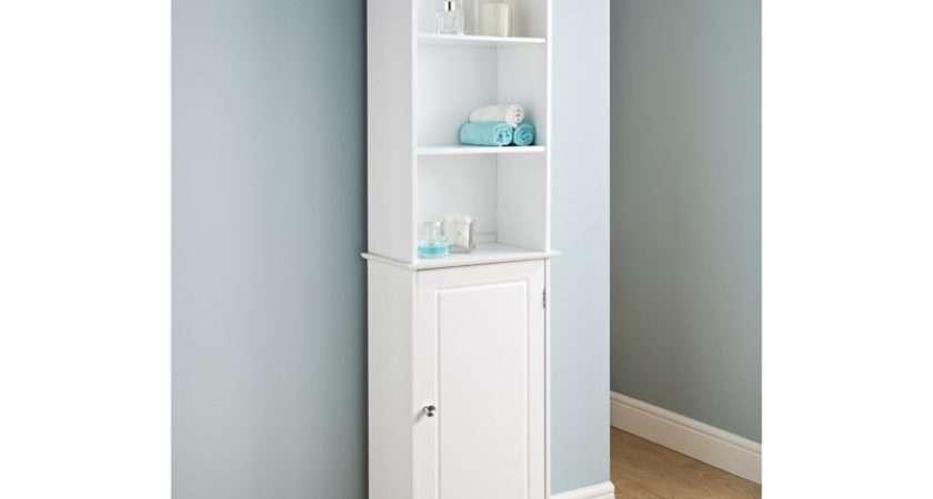 Camille Tall Boy Bathroom Furniture Storage Stores