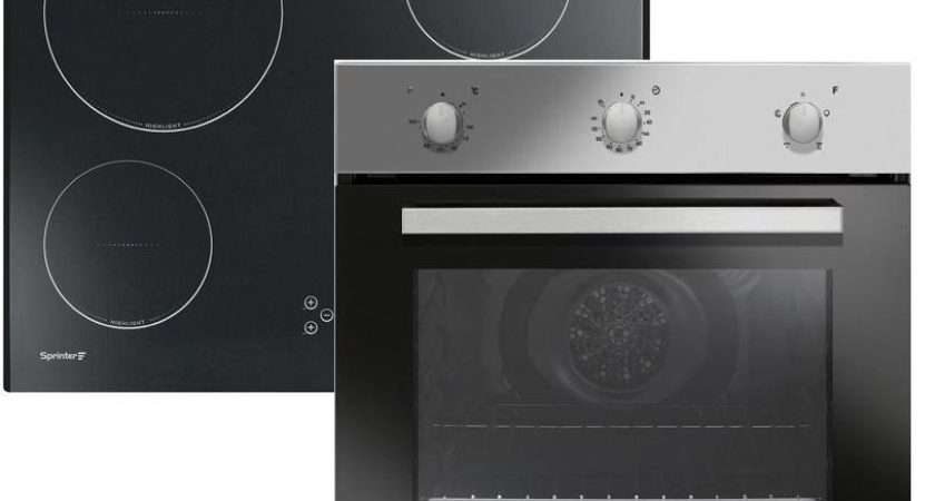 Candy Oven Hob Pack Single Fan Touch Control