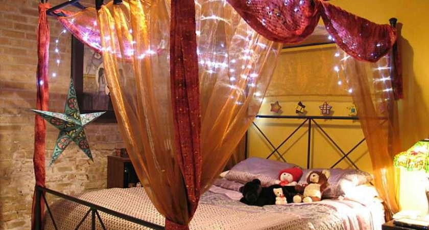 Canopy Bed Ideas Beautiful Lighting Decorating Kids