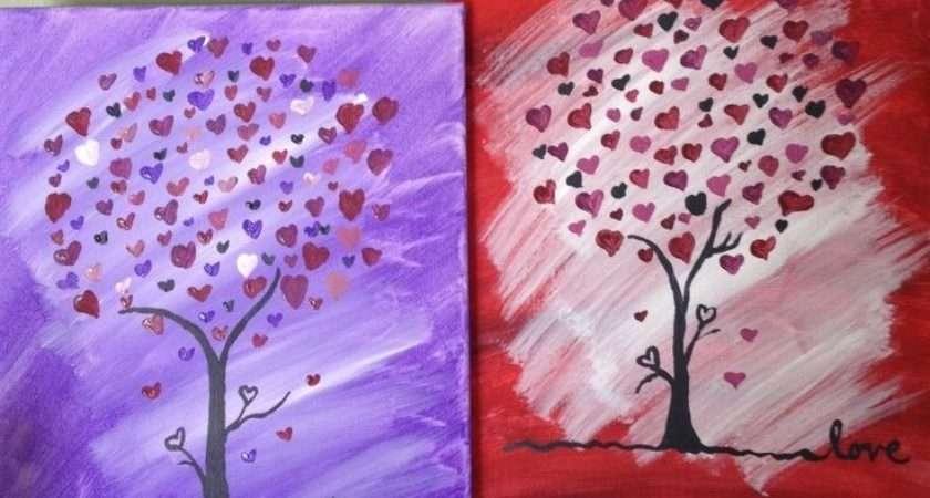 Canvas Art Painting Trees Ideas Tree
