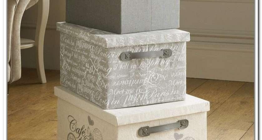 Canvas Storage Boxes Home Design Ideas