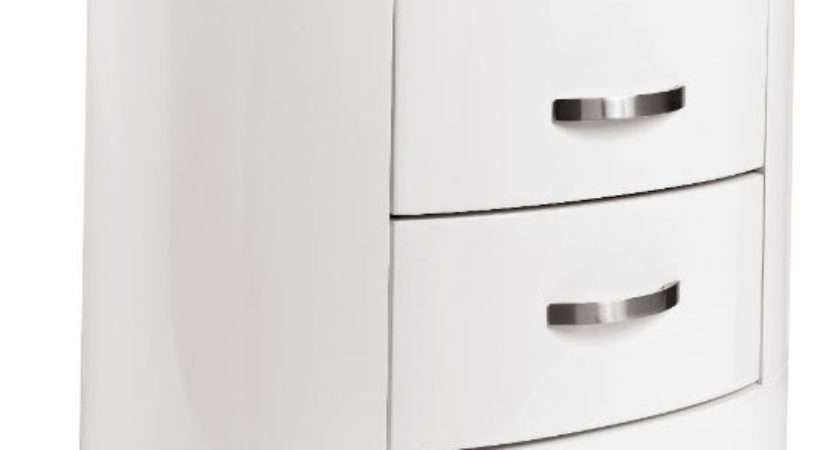 Capri Bedside Cabinet Dwell Table Bedroom