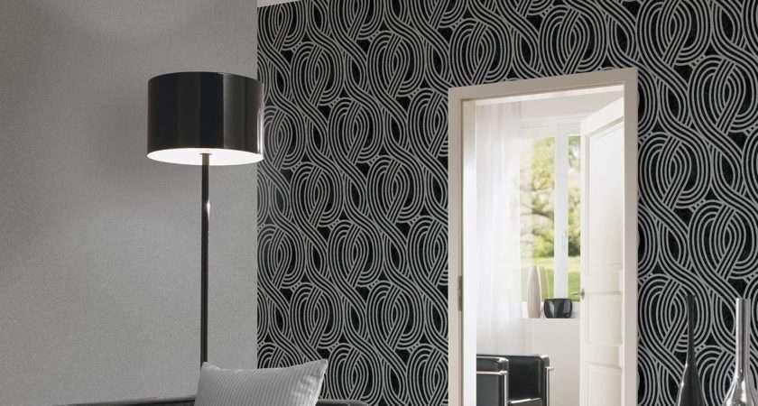 Carat Glitter Dark Silver Bedroom