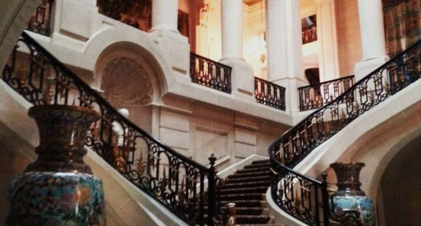 Carolands Chateau Grand Staircase