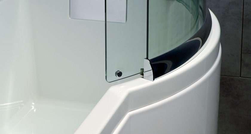 Carron Celsius Carronite Shower Bath Left Handed