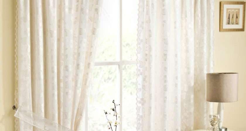 Casa Verdi Fiji Pair Voile Curtains Natural
