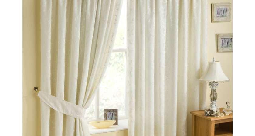 Casa Verdi Perth Pair Lined Voile Curtains