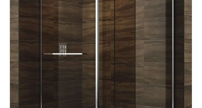 Cascata Shower Screen Tray Walk Showers