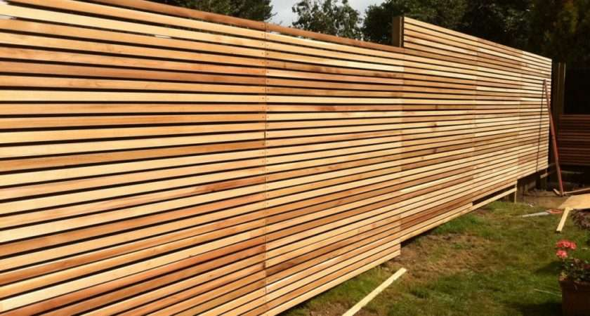 Case Study Western Red Cedar Slatted Screens Create
