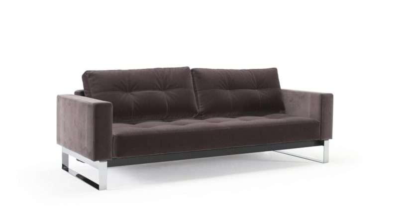 Cassius Velvet Sofa Chrome Dark Grey