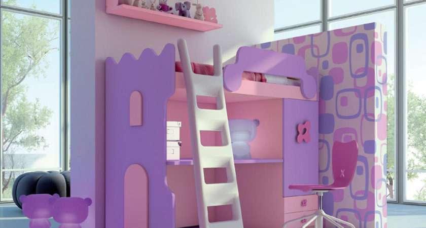 Castello Children Bed Contemporary Bunk Beds Modern Kids