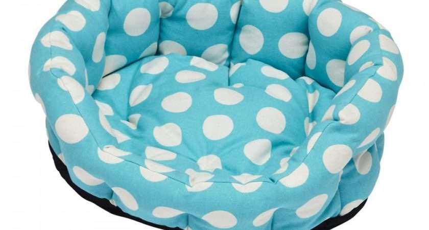 Cath Kidston Big Spot Dog Bed Medium Pets