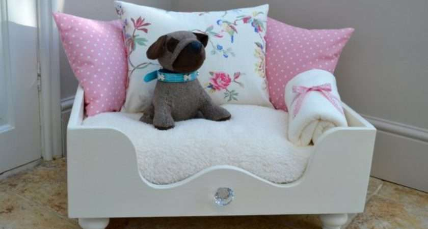 Cath Kidston Cat Dog Bed Cosychicpetboutique Etsy