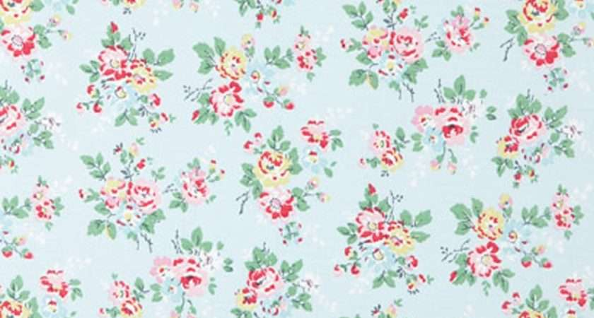 Cath Kidston Fabric Cotton Duck Kingswood Rose