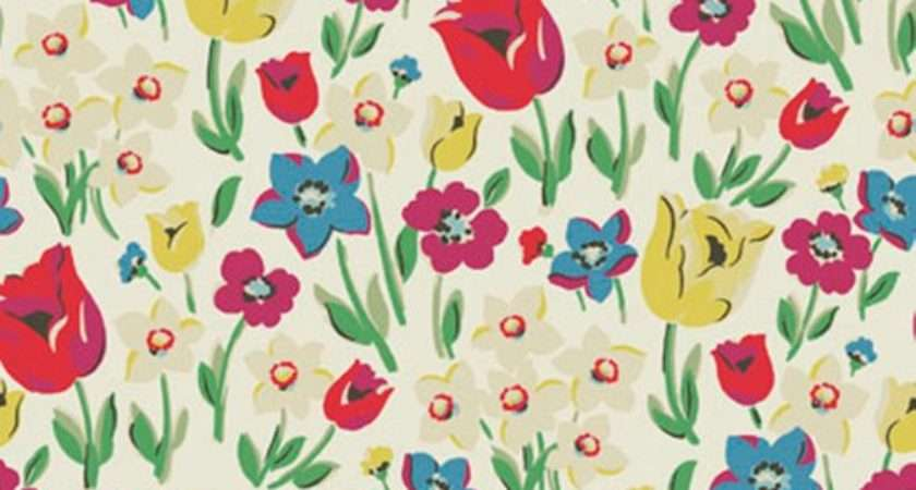 Cath Kidston Fabric Paradise Fields New Design