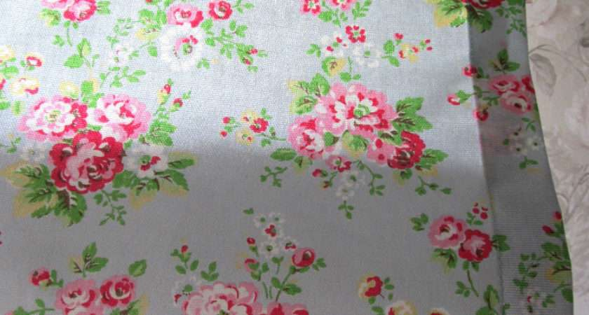 Cath Kidston Fabric Unlined Roman Blind Rose Floral Flower
