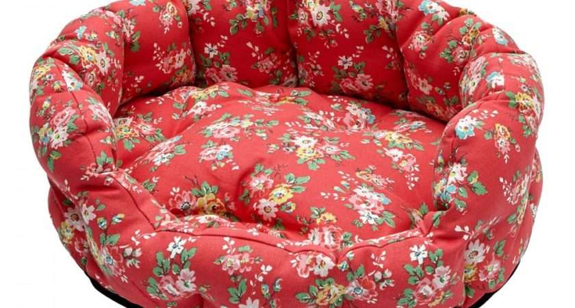 Cath Kidston Kingswood Rose Small Dog Bed Floral Pet
