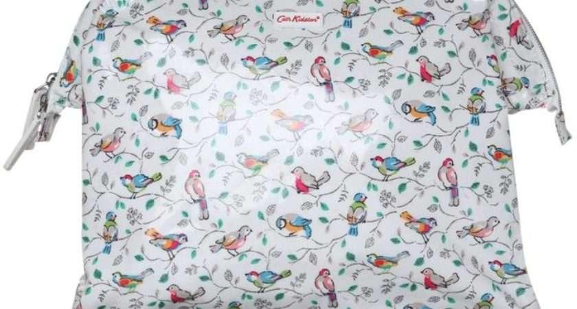 Cath Kidston Little Birds Wash Bag White