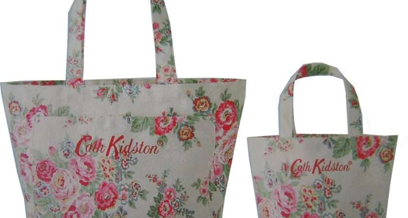 Cath Kidston Rose Twin Bag Set Gift Fly