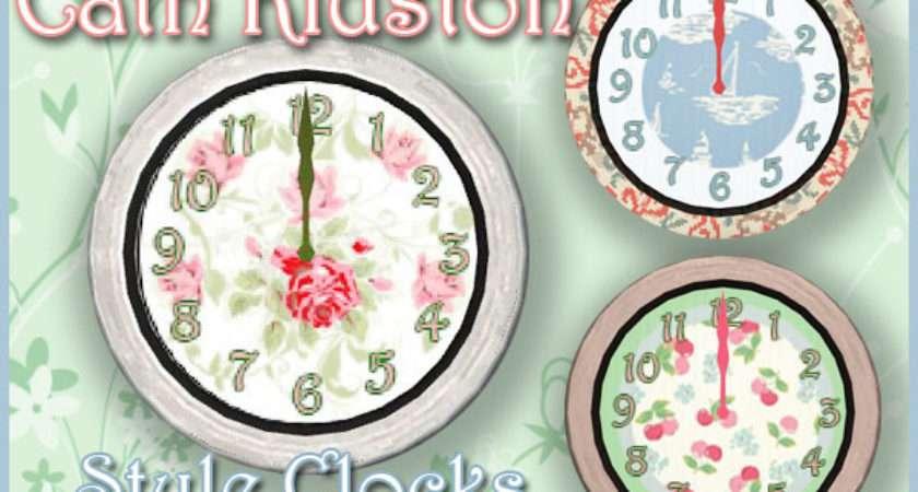Cath Kidston Style Clocks Welcome Akisima