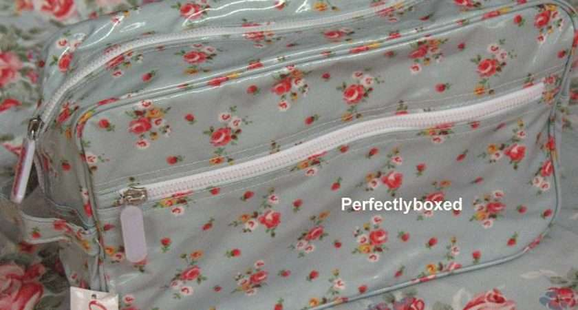 Cath Kidston Wash Bag Blue Rose Sprig Perfectlyboxed