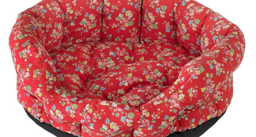 Cath Kidston Woodland Rose Large Dog Bed