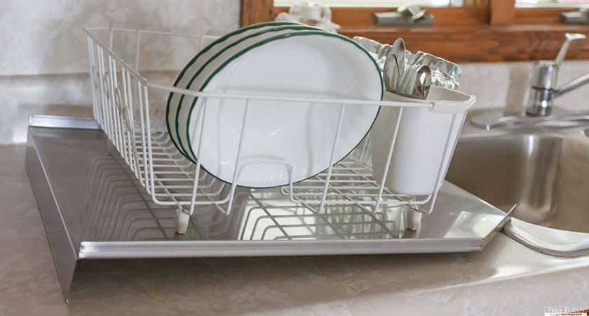 Ccw Dish Drying Rack Stainless Sink Drain Board