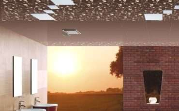 Ceilings Brick Walls Bathroom Design House