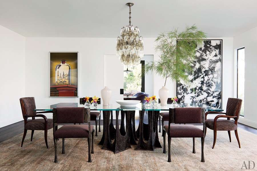 Celebrity Dining Rooms Darren Star
