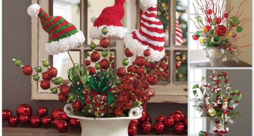 Center Pieces Truly Festive Feast Christmas